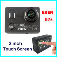 Originale EKEN H7s Touch Screen Action Camera 4K 30fps Utral HD Video 14mp Immagine WIFI 4K Sport fotocamera 170 Obiettivo grandangolare Mini DV