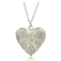 Wholesale Love New Photo Heart - New Silver Plated Jewelry Heart Photo Locket Necklace Pendant Best Gift For Women Girl P1018