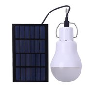 Wholesale Domestic Lamp - Free shipping Domestic portable solar LED charging lamp, outdoor lighting camp tent, emergency mobile camping light LLFA