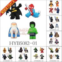 Wholesale Sticker Magnets - Wholesale 100pcs Hot Movie Legos Star War Super Hero Magnets PVC Fridge Magnets home decor Kids party favors