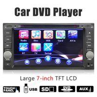 Wholesale Toyota Prado Car Stereo - 7 Inch Car DVD Stereo USB MP3 Radio Player For Toyota Landcruiser Prado Hilux with iPod Function CMO_20P