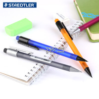 Wholesale Refill Leads - DHL & SF_Express Mechanical pencil Scrub penholder 0.5mm Refill lead pencil writing pencil factory price(2)
