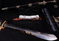 Wholesale China Razors - High Quality Handmade Clay Tempered Abrasive Folded Steel Blade Razor Sharp Chinese Sword