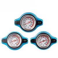 Wholesale Parts Radiator - Free Shipping Temperature Gauge with Utility safe 0.9 and 1.1 and 1.3 bar Thermo Radiator Cap Tank Cover
