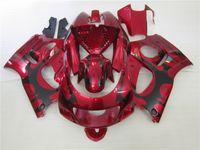 Wholesale 1998 Srad - 4 Free gifts Full Fairings kit for SUZUKI SRAD GSXR 600 750 1996 1997 1998 1999 2000 fairing set gsxr600 gsxr750 96-00 red black