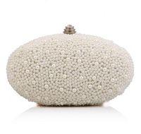 Wholesale Exclusive Handbags - Factory direct brand Exclusive handbag fashionpersonality oval dinner dress collocation pearl bag brand new pearl diamond party handbags