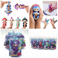 Wholesale Trendy Touch - Pre-sale Fingerlings Interactive Pet Electronic Little Baby Monkey Smart Touch Finger Monkey Children Kid Toy With Retail Box OOA2886