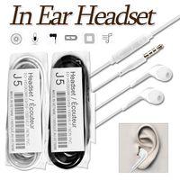 iphone headset verdrahtung großhandel-Kabelgebundene Kopfhörer für iPhone 6 In-Ear-Ohrhörer 3,5-mm-Sport-Running-Kopfhörer mit Mikrofon Lautstärkeregler