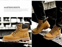 Wholesale Leather Riding Boots Men - Newest 2018 men boots Fashion Riding Boots first layer of leather men's real leather tooling boots man, botas hombre zs16508