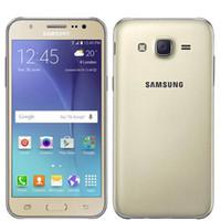 telefone 4s 16gb venda por atacado-Remodelado Samsung J5 SM-J500F Dual sim 16G ROM Telefone Inteligente 5.0Inch Tela Quad Core Desbloquear telefone celular
