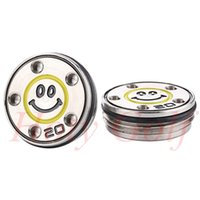 Wholesale smile face button - 1Pairs Golf weights 20gram Golf changeable 2011 Smiling face weights for Button Back California Newport Putters Free shipping