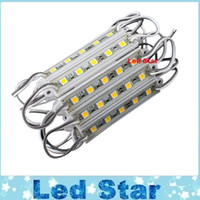 Wholesale Led Channel Letter Lights - 2016 Newest 5 Leds 5050 SMD Led Backlight Modules Lamp DC 12V Waterproof IP65 Great For Channel Letters Signboard Lighting