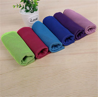 Wholesale Ice Cold Towel Cooling Summer Sunstroke Sports Exercise Cool Quick Breathable Cooling Towel for Kids Adult