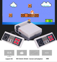 Wholesale High Definition Games - Newest For FC Video Game Console 8bit Nes Classic Game Player With 600 free games HDMI TV Out High Definition with 2 gamepads