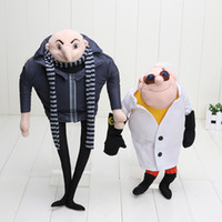 "Wholesale Toys Despicable Movie - Despicable Me 2 Plush Toy Gru 15"" and 13'' doctor Villain Papa Collectible Stuffed Animal Doll"