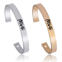 Wholesale Metal Wristbands For Men - Open Bangle For Women And Men Heart Cuff Wristband Metal Heart Cuff Off Bracelet New Brand Party Jewelry Christmas Gift Best Friend