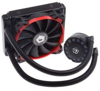 Wholesale 775 Fan - Original new ID-COOLING one 12cm PWM fan one row red LEDs CPU water cooler Frostflow 120L-R for multi-platform LGA2011 115X 775 & AMD All