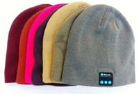 Wholesale Factory Technology - NEW latest technology Bluetooth fashion knitted hat autumn and winter warm hat Bluetooth music functionality hat factory wholesale