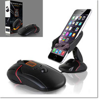 Wholesale Mouse Mount - 2016 new design cell phone holder mouse like mount with suction cup for hold suit for samsung iphone cell phone with retail package