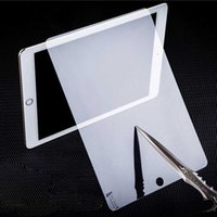 Премиум LCD закаленное стекло Screen Protector Anti-Shatter 9H 0,3 мм HD Clear Safe Guard для iPad 2 3 4 5 6 Mini Air 2 Pro 9.7
