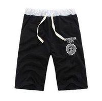 Wholesale Drawstring Sports Skirt - 2016 New Hot Korean Summer Shorts For Men Slim Casual Cotton Mens Shorts Comfortable Sport Breeche