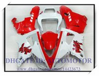 СИСТЕМА ВПРЫСКА BRAND NEW обтекателя KIT 100% FIT FOR YAMAHA YZF R1 YZF1000 1998-1999 YZFR1 1998 1999 YZF R1 98 99 # AK838 RED WHITE