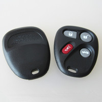 Wholesale Gm Fob Cover - Hot sell car replacement key case for GM 4 button remote key blank shell FOB KEY cover free shipping