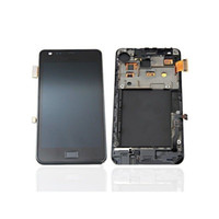 Wholesale Digitizer For Galaxy S2 - LCD Touch digitizer Screen Display For Samsung Galaxy S2 i9100 Black and White