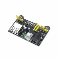 Wholesale Power Supply Electronics - Wholesale-Smart Electronics MB102 MB-102 Solderless Breadboard Power Supply Module 3.3V 5V for Arduino Board Diy Starter Kit
