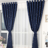 curtain grommet kitchen sheer blackout curtains linen mixed woven gold jacquard cloth pattern kids room