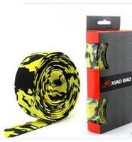 Wholesale Bar Tape Cork - 5sets Hot Sale! New Arrival High Quality Colorful Cycling Handle Belt Bike Bicycle Cork Handlebar Tape Wrap +2 Bar