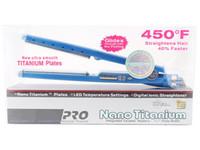 Wholesale Straightening China - Hot PRO 450F 1 1 4 plates babe liss plate Hair Straightener Straightening Irons Flat Iron DHL free fast ship