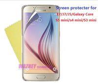 Wholesale Siv Mini - 1000pcs lot High Quality Screen Protecter LCD Film FOR Samsung Galaxy S5mini  S4 Mini SIV i9190 S3mini