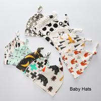 Wholesale crochet fox hat for sale - Group buy 2016 New Autumn Baby Boy Girl Hats Caps Accessories Fashion Newborn Panda Fox Photography Props Wrap Infant Kid Skull Hats Animals cm