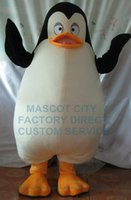 Wholesale Penguin Fancy Dress - Professional Custom Hot Sale Mascot Cute Madagascar Penguin Private Mascot Costume Adult Cartoon Character Mascotte Fancy Dress 1977