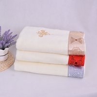 Wholesale Chinese Baby Bath - chinese knot 100% Cotton facecloth Bath Beach Kitchen Hand Cooling Hotel Luxury Towels Baths For Wholesale Wash Face Gym Towel Washcloths 01