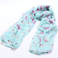 Wholesale woman cute winter scarfs - 2016 New brand winter scarf Cute Dragonfly print voile scarves for women infinity scarf bufandas mujer 2016 shawls and scarves
