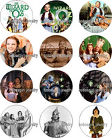 oz music - The Wizard of Oz glass Snap button Charm Popper for Snap Jewelry good quality Gl384 jewelry making