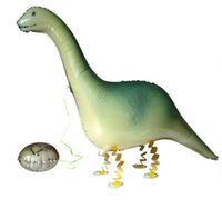 şişirilebilir balon hayvanlar toptan satış-Toptan Satış - Supersaurus Dinozor Balon Yürüyüş Balonlar Hayvanlar Şişme Hava Balon Doğum Günü Partisi Malzemeleri Çocuklar için Klasik Oyuncak 55 * 42cm