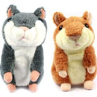 Wholesale Repeat Any Language - Wholesale-Hot Selling Russian Talking hamster wooddy time stuffed animal toys speaking kid Toy repeat what u said in any language