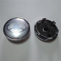 Wholesale Abs Chrome Wheels - 60mm Car Center Hub Caps Wheel Covers for Toyota Auto Parts High Quality Car Wheel Covers