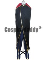 Wholesale Code Geass Lelouch Cosplay Costume - Code Geass Cosplay Zero Lelouch Cosplay Costume Suit Anime Cosplay - Any Size P002
