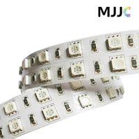 12 volt led streifen weiß großhandel-5M 12 Volt 24V DC 120LEDs / M SMD5050 LED-Streifenlicht, Rosa, Lila, Rot, Gelb, Blau, Grün, Weiß, Warmweiß