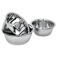 Wholesale Restaurant Bowls - 20*8.5cm Stainless Steel Dish Dinner Basin High Quality Tableware Durable Snack Fruit Bowls kitchen Restaurant Accessories