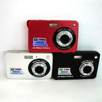 "Wholesale mega zoom cameras - 2.7"" TFT 18MP Mega Pixels Digital Camera DC530 8X Digital Zoom Anti-Shake HD 720p DV Camcorder for Child Christmas Festive Gift"