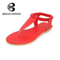 Wholesale Simple Style Sandals - Wholesale-Factory Sale Women's Flip Flops Plus Size 34-43 Flat Heel Summer Sandals Comfortable And Simple Style Ladies Shoes
