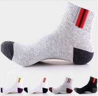 Wholesale Mens Socks For Winter - 5 Paris Cotton&Bamboo Fiber Classic Business Men Socks Good quality Gay Mens Socks For Men Autumn-winter Casual Socks Meias Sox