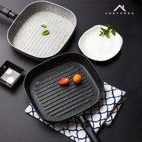 Wholesale Eggs Cooker - Life 83 22x24 Cm No Oil -Smoke Pan Steak Frying Pan Breakfast Frying Eggs Only Use For Gas Cooker Non -Stick Pans Cooking Helper