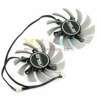 Wholesale Graphics Cards Asus - T128010SH DC12V 0.25A for ASUS GTX660Ti -DC2- 2GD5 GTX670--DC2OG DirectCU II Graphics card cooling fan