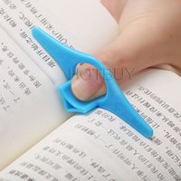 Wholesale Reading Ring - Multifunction Thumb Book Page Holder Marker Finger Ring Bookmark Plastic Convenient Reading Helper Book Mark #4177